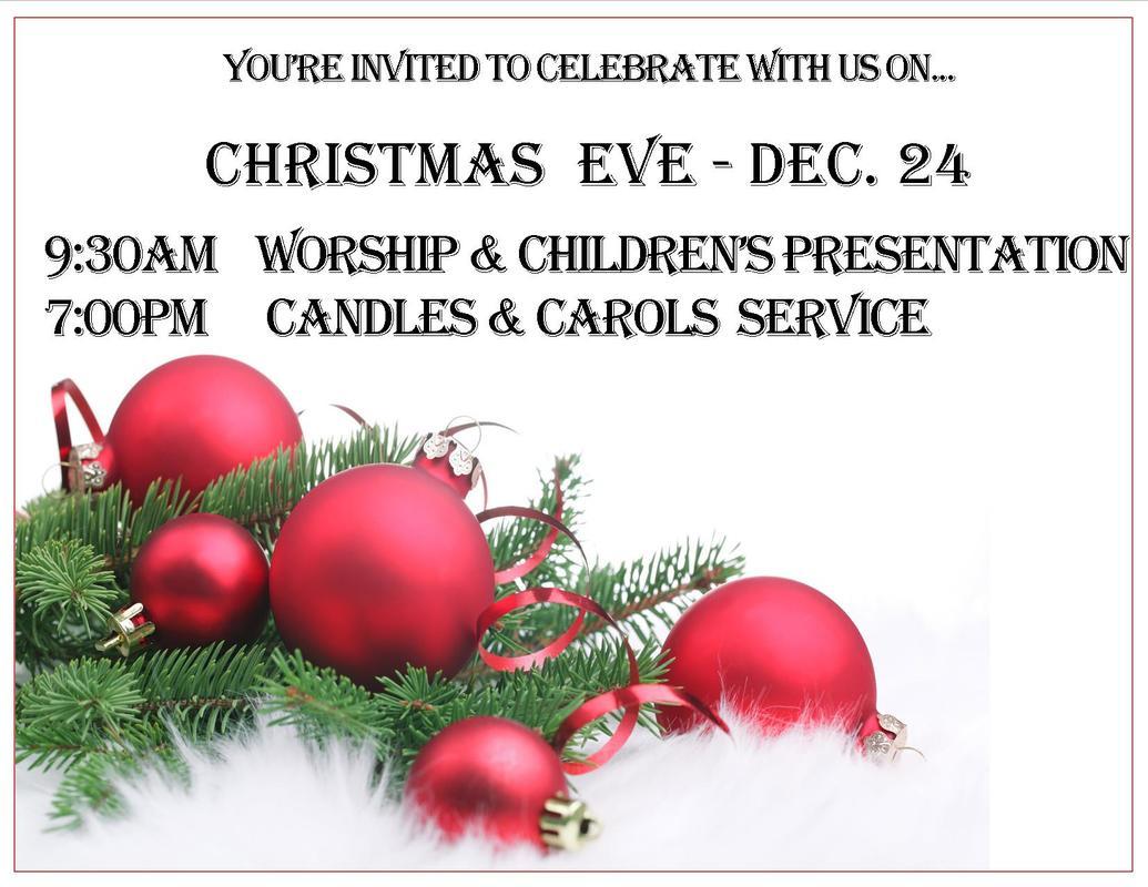 Christmas Eve Service at Hope Community Church of Lake Oswego